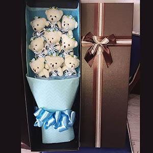 可爱多/9只小熊礼盒