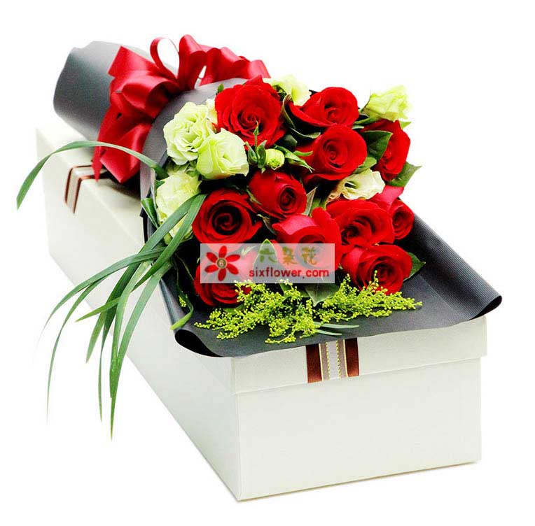 给你的惊喜/11支玫瑰礼盒