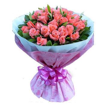 我心喜欢你/39支粉玫瑰
