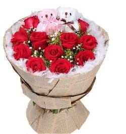 安静的把你想起/11支红玫瑰