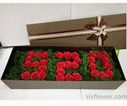 33枝玫瑰礼盒/每天多点爱