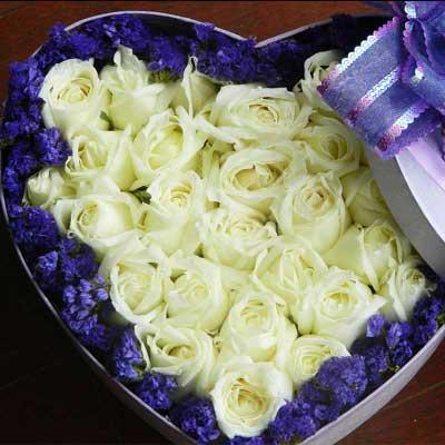 你是我的财富/33支盒装鲜花
