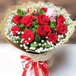 11支红玫瑰/一切尽在不言中