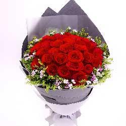 33枝红玫瑰/做我一生唯一的情人吧