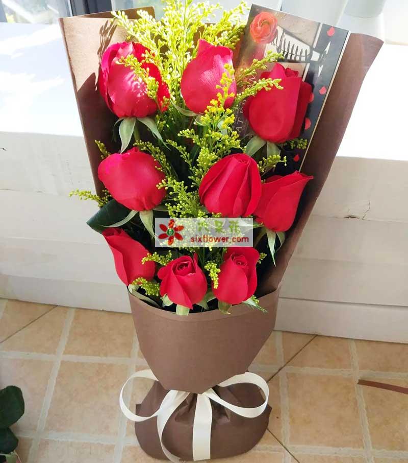 9支红玫瑰/爱情海