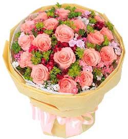 不知为何总想你/19支粉玫瑰