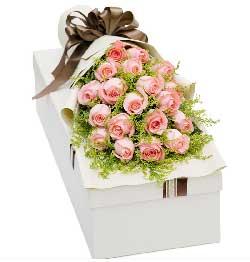 21支粉玫瑰/爱你