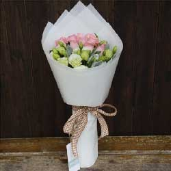 11支粉佳人玫瑰/祝福你在每一天里永远多采多姿
