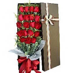 19支红玫瑰礼盒/恋上你