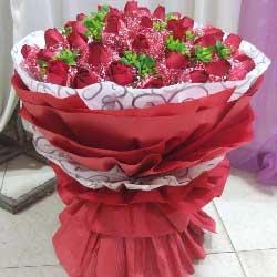 40枝玫瑰/难忘您的身影