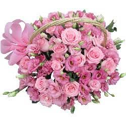 29支粉玫瑰…