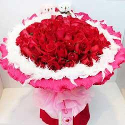 红玫瑰99支/想有一双翅膀,让我飞在你身旁
