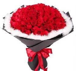 99支红玫瑰…