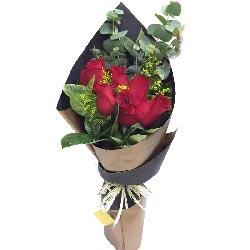 爱情是承诺,为你一生一世/8支红色玫瑰