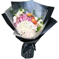 祝愿你永远阳光灿烂/19支紫色玫瑰