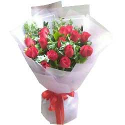 一颗善良的心,一个真挚的爱恋/16支红色玫瑰