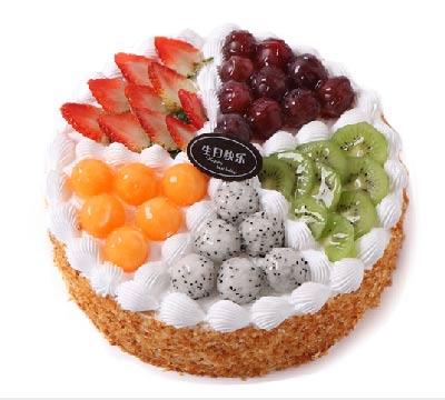 8寸水果蛋糕/希望你好好的