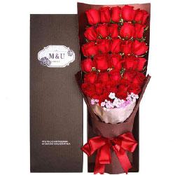 共度一生的幸福/36支红色玫瑰