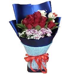 与你的爱举世少有/红色玫瑰19支
