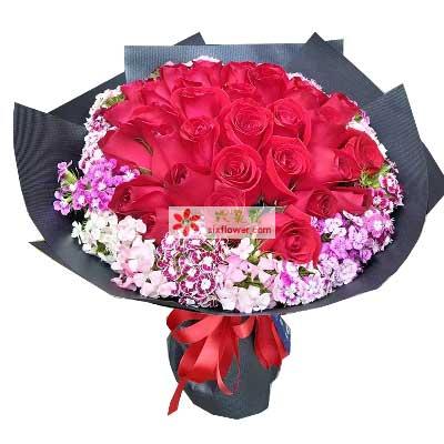 30支红玫瑰/一见钟情