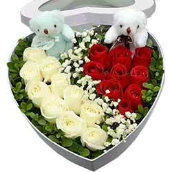 我爱你是那么深/19支玫瑰礼盒