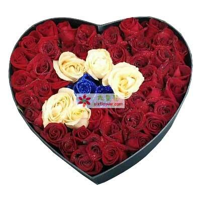 想你是快乐的/51支玫瑰