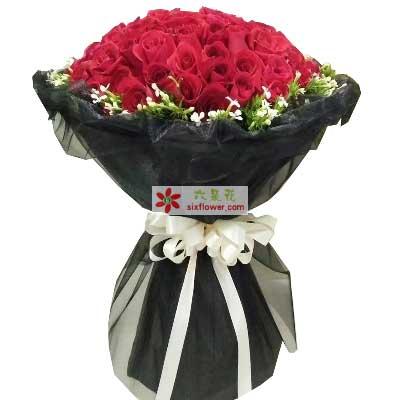 永远不变的牵挂/51支红色玫瑰