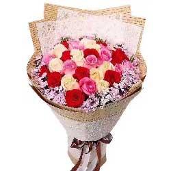 爱上你是我今生最大的幸福/30支玫瑰