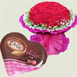 你属于我/99支红玫瑰巧克力