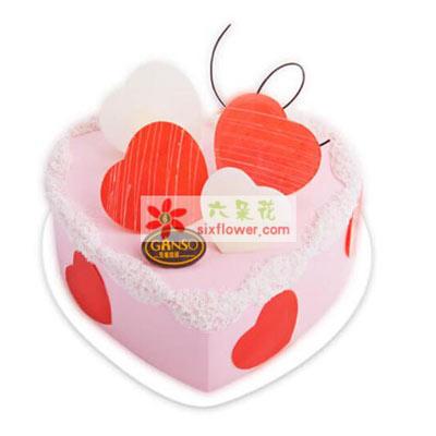 爱情传说/8寸元祖鲜奶蛋糕