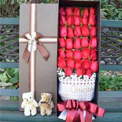 今生手相牵/33支红玫瑰礼盒