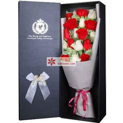 永远爱你/19支玫瑰礼盒