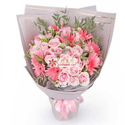 美丽的爱/33支粉玫瑰