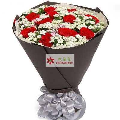 温暖的祝福/11支红玫瑰