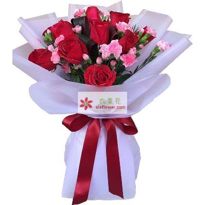 情比海深/11枝红色玫瑰