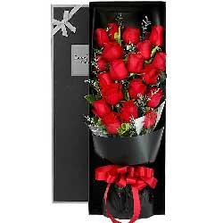 浓浓的爱/21支红色玫瑰