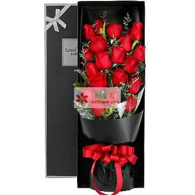 浓浓的爱/21枝红色玫瑰