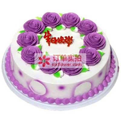 不变的爱/8寸鲜奶夹心蛋糕