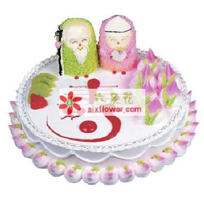 寿星/8寸祝寿蛋糕