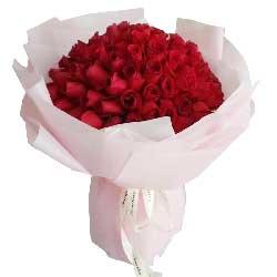 日日夜夜牵手共度/99支红色玫瑰