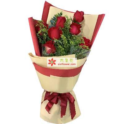 7支玫瑰/为你钟情