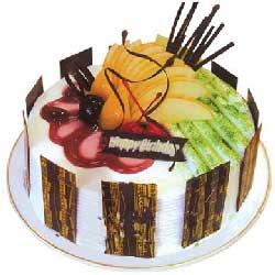 幸福回味/8寸圆形鲜奶水果蛋糕