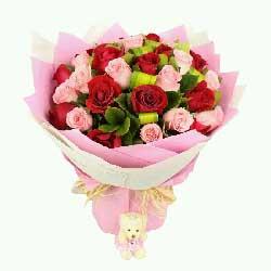 有爱生命不老/29枝玫瑰