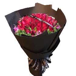 你已在我心里扎根/30支红色玫瑰