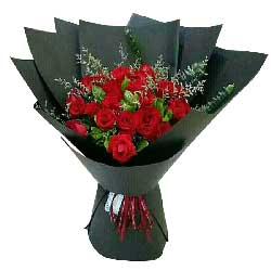 真诚的诺言/21支红色玫瑰