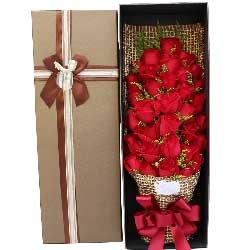 旷世姻缘/33枝红色玫瑰礼盒