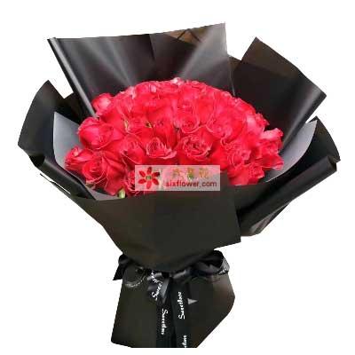 对你的爱如潮水/33支红色玫瑰