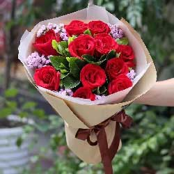 祝福我的爱人/11支红色玫瑰