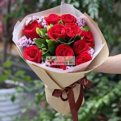 祝福我的爱人/11枝红色玫瑰