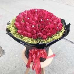 66支红玫瑰…